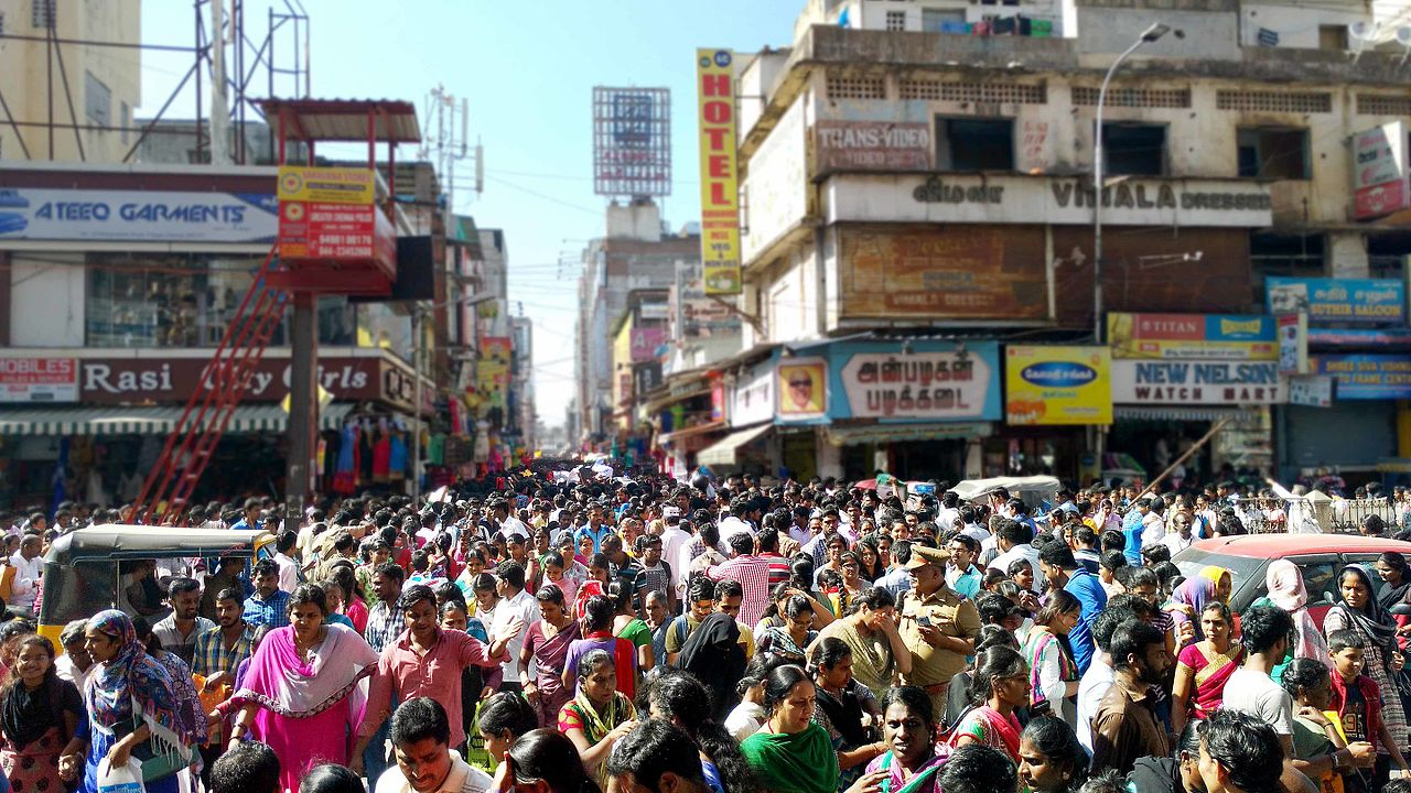 Thyagaraya Nagar (popularly known only as T. Nagar) - Best Place To Shop In Chennai
