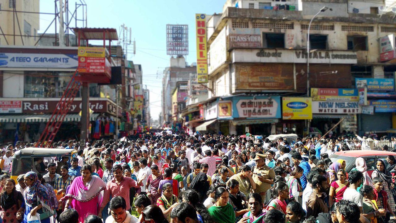 Thyagaraya Nagar (popularly known only as T. Nagar) - Best Place To Shop In Chennai