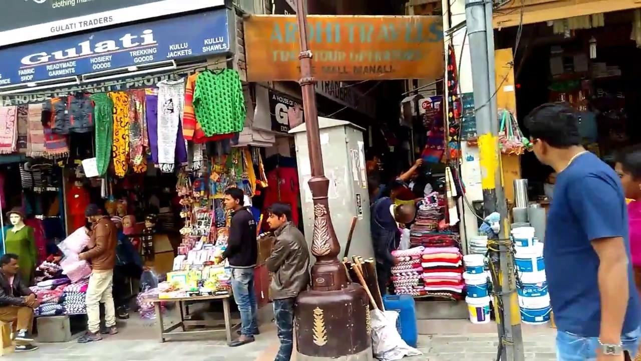 Best Shopping Place to Shop in Kullu and Manali - Tibetan Market