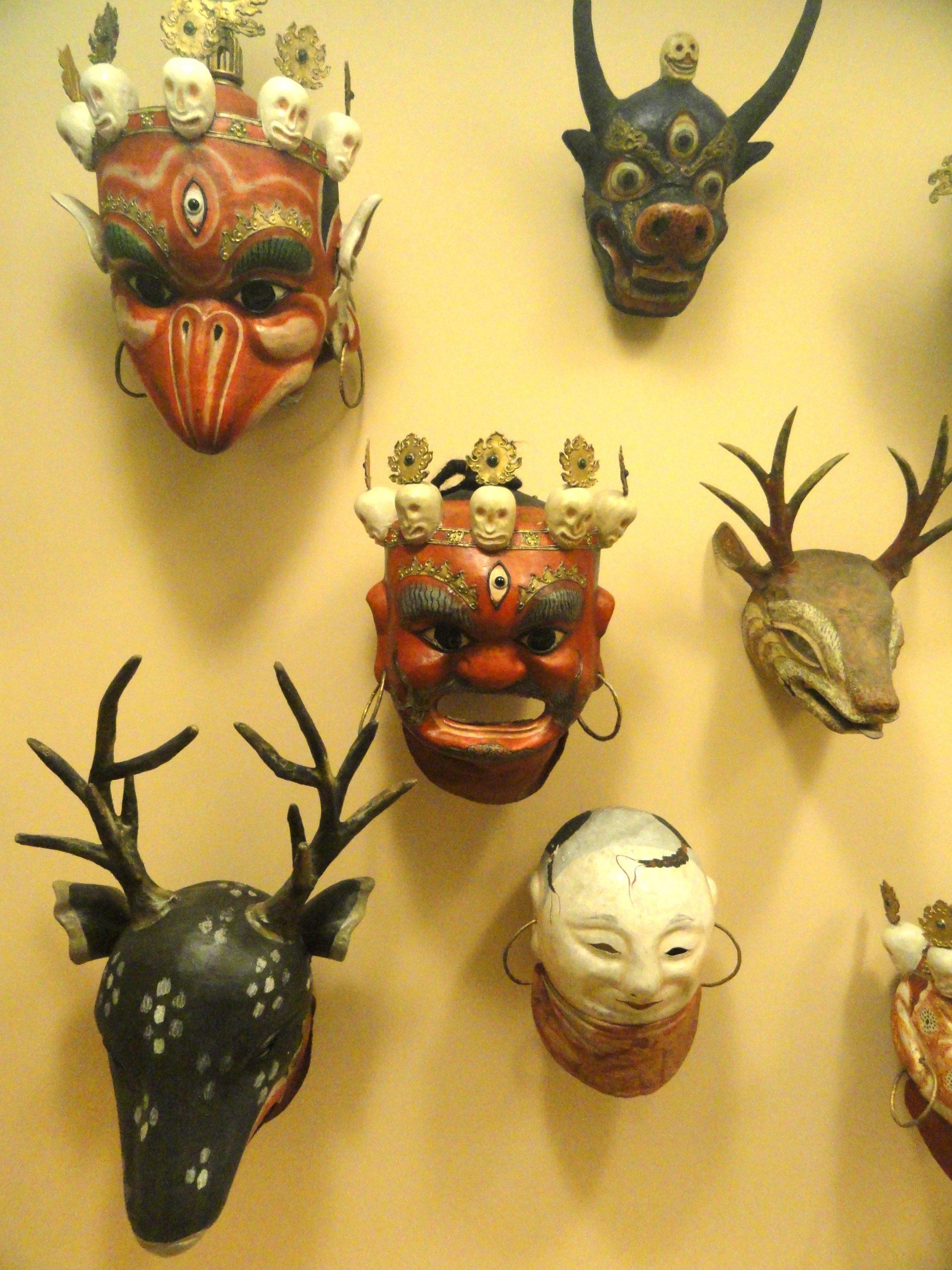 Tibetan Masks Buy While Shopping In Pelling
