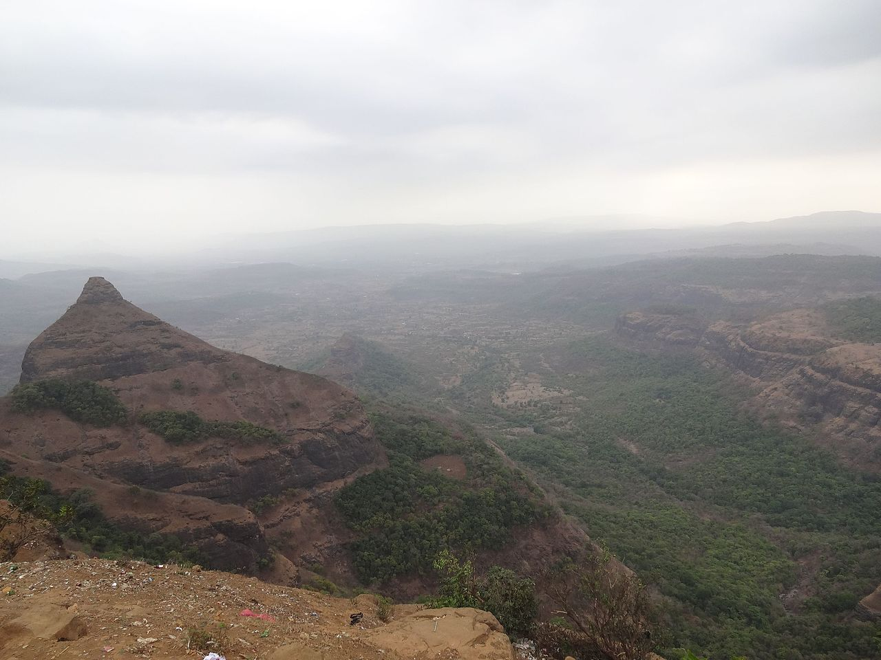 Sightseeing Place To Visit Near Korigad Fort-Tiger's Point
