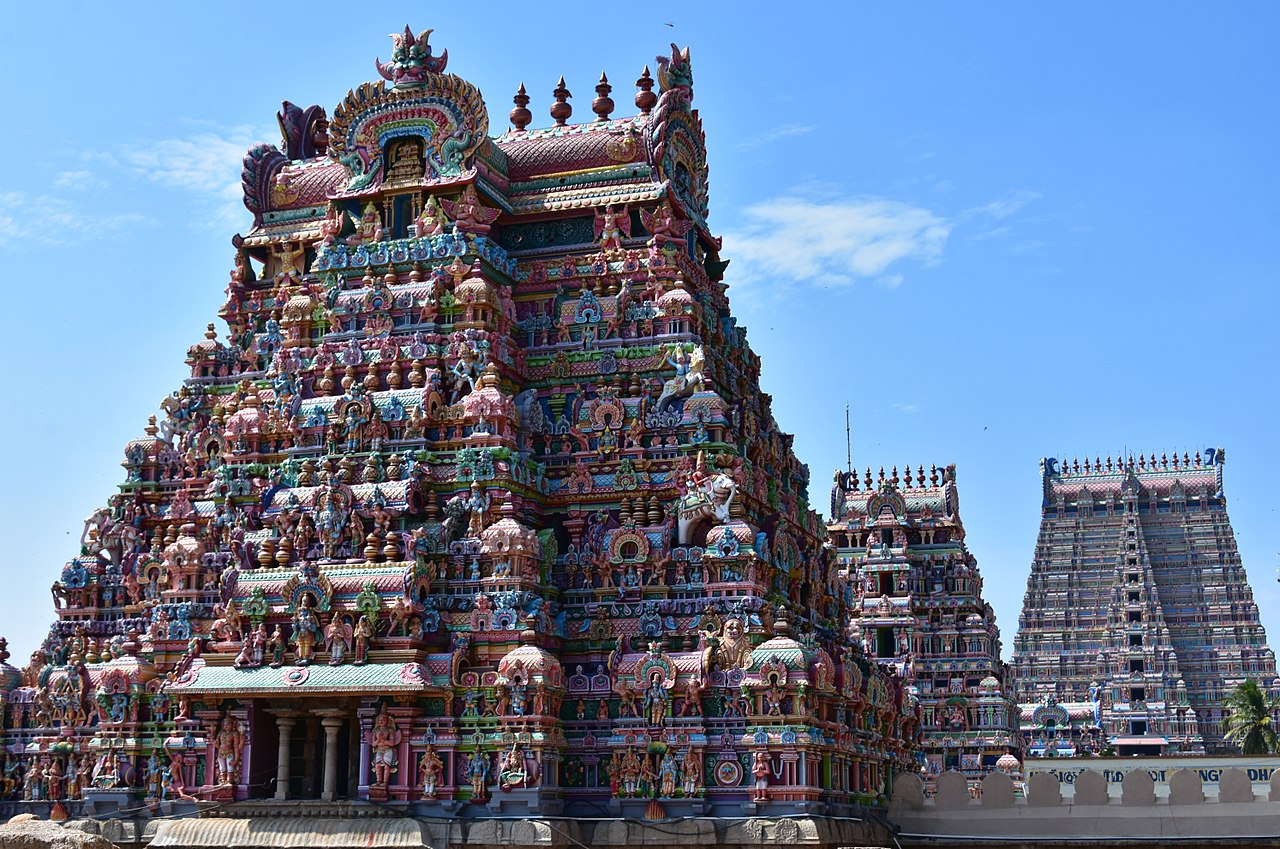 Top Weekend Destination From Salem-Tiruchirappalli, Sri Ranganathasway Temple