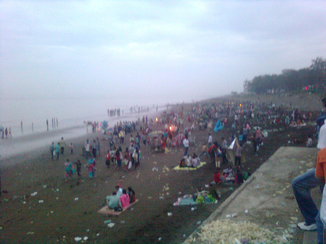 Top Place To Visit In Valsad for Tourists-Tithal Beach