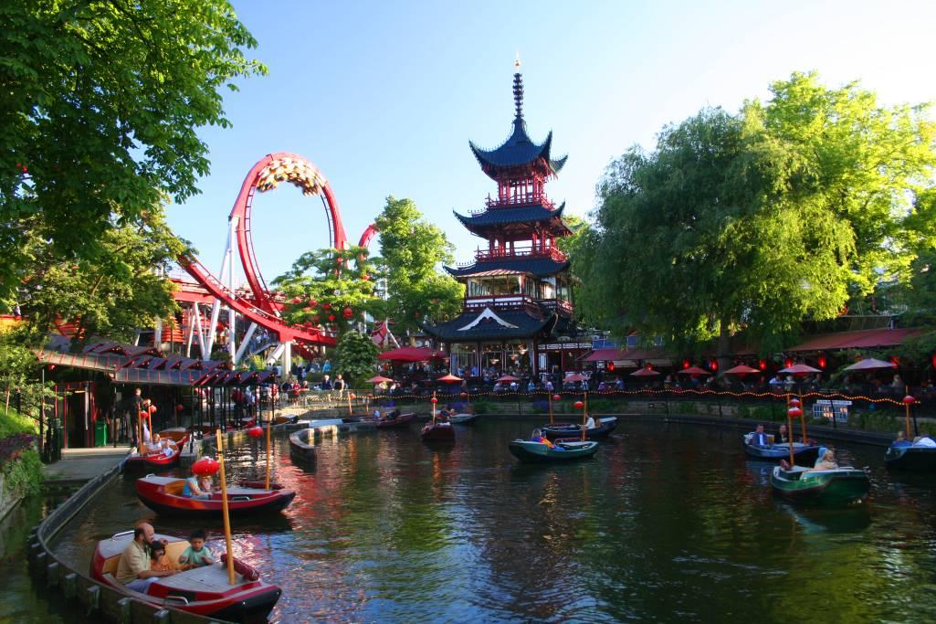 Tivoli Gardens - Popular Tourist Destinations in Copenhagen