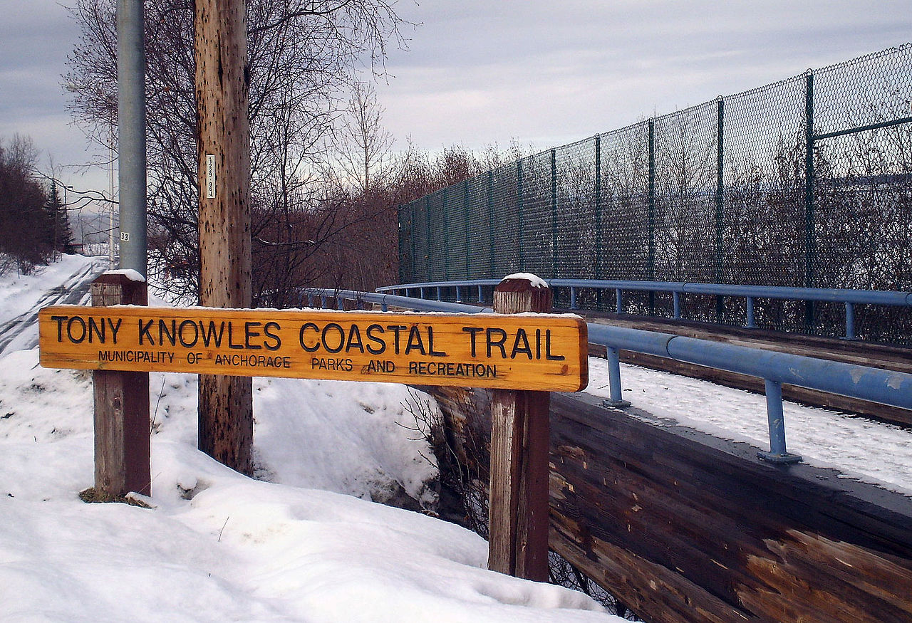 Sightseeing Place to Visit In Anchorage, Alaska-Tony Knowles Coastal Trail