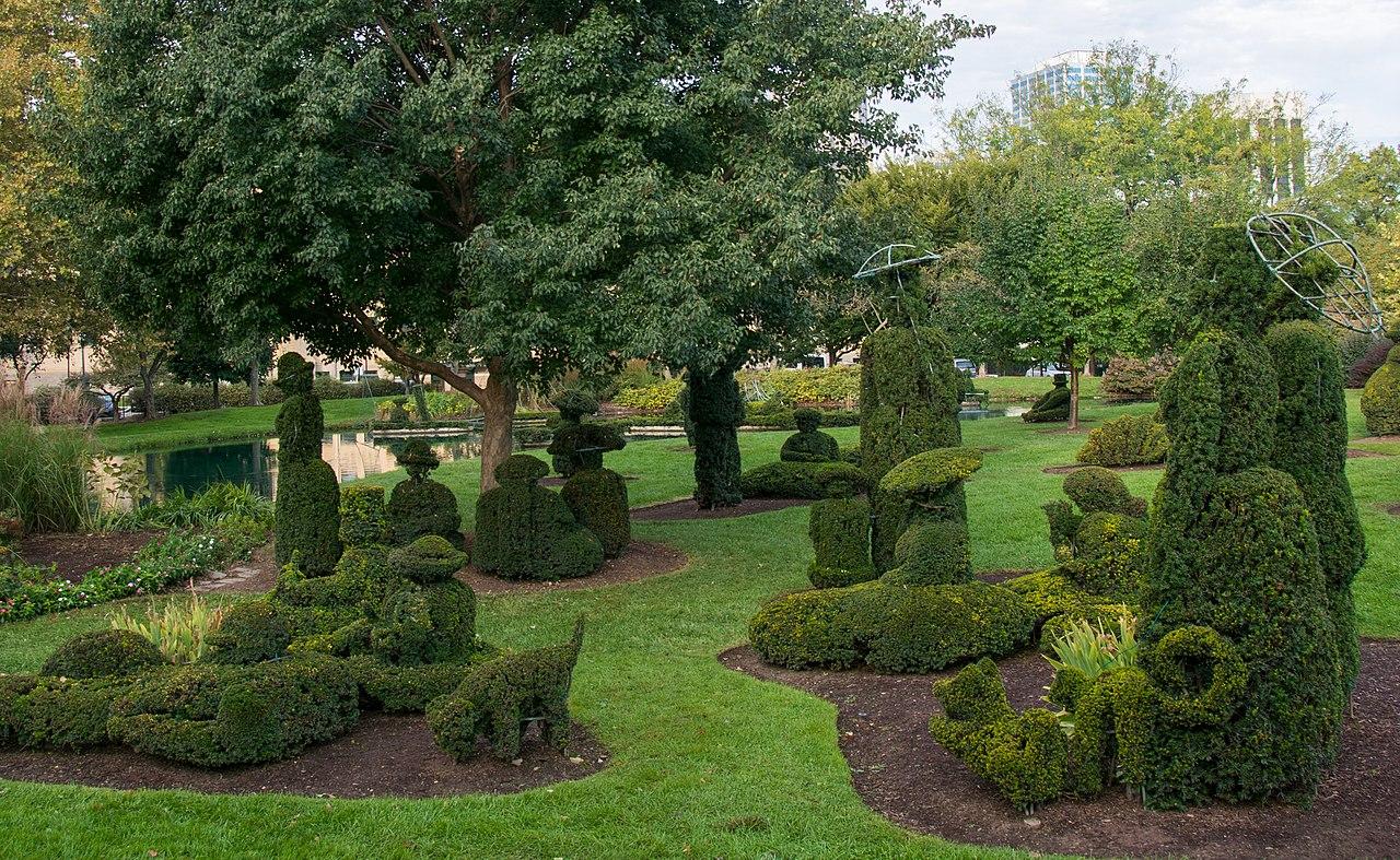 Popular Place To Visit In Columbus, Ohio-Topiary Park
