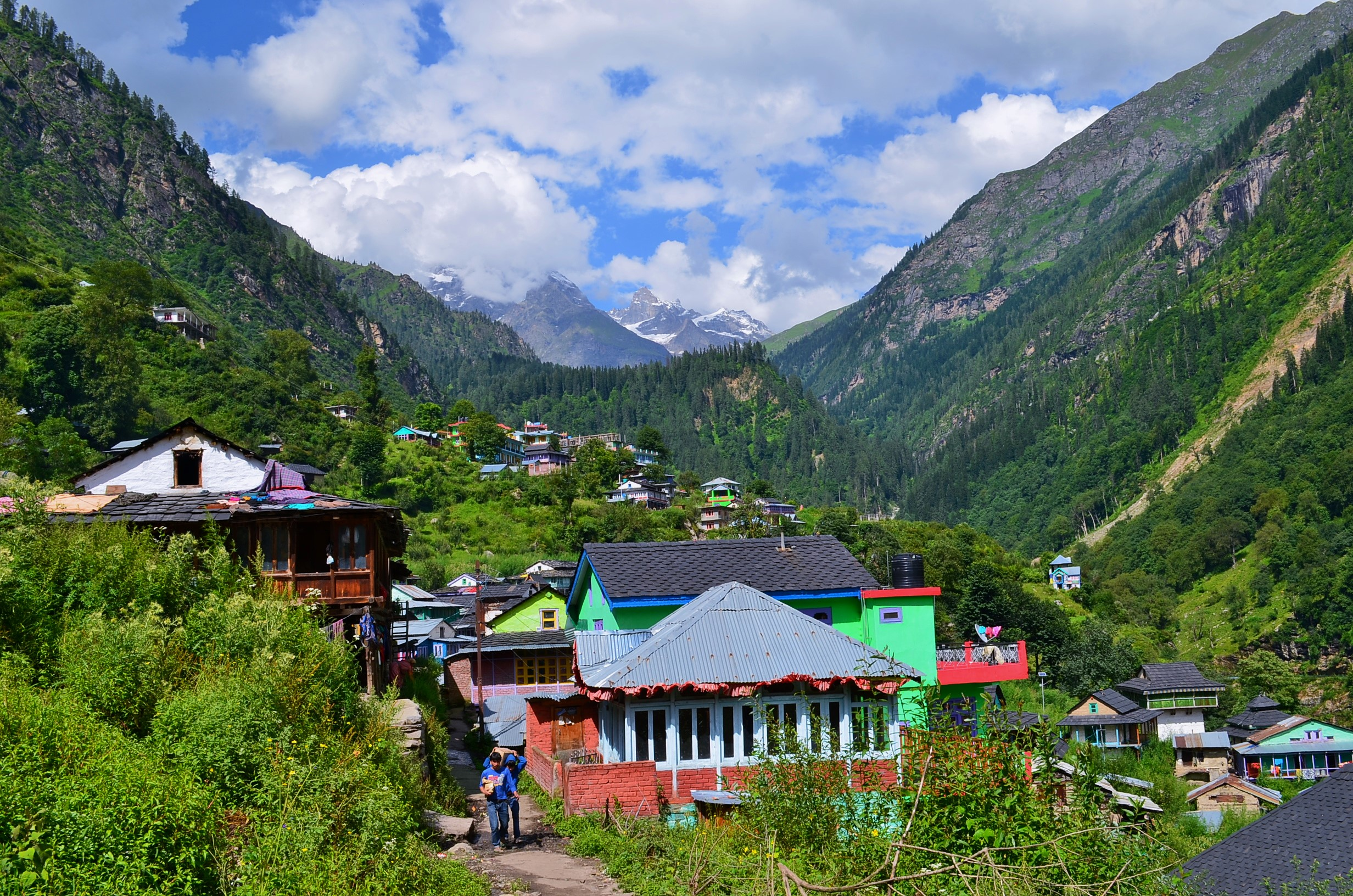 Beautiful Place to Visit In Kasol-Tosh Village