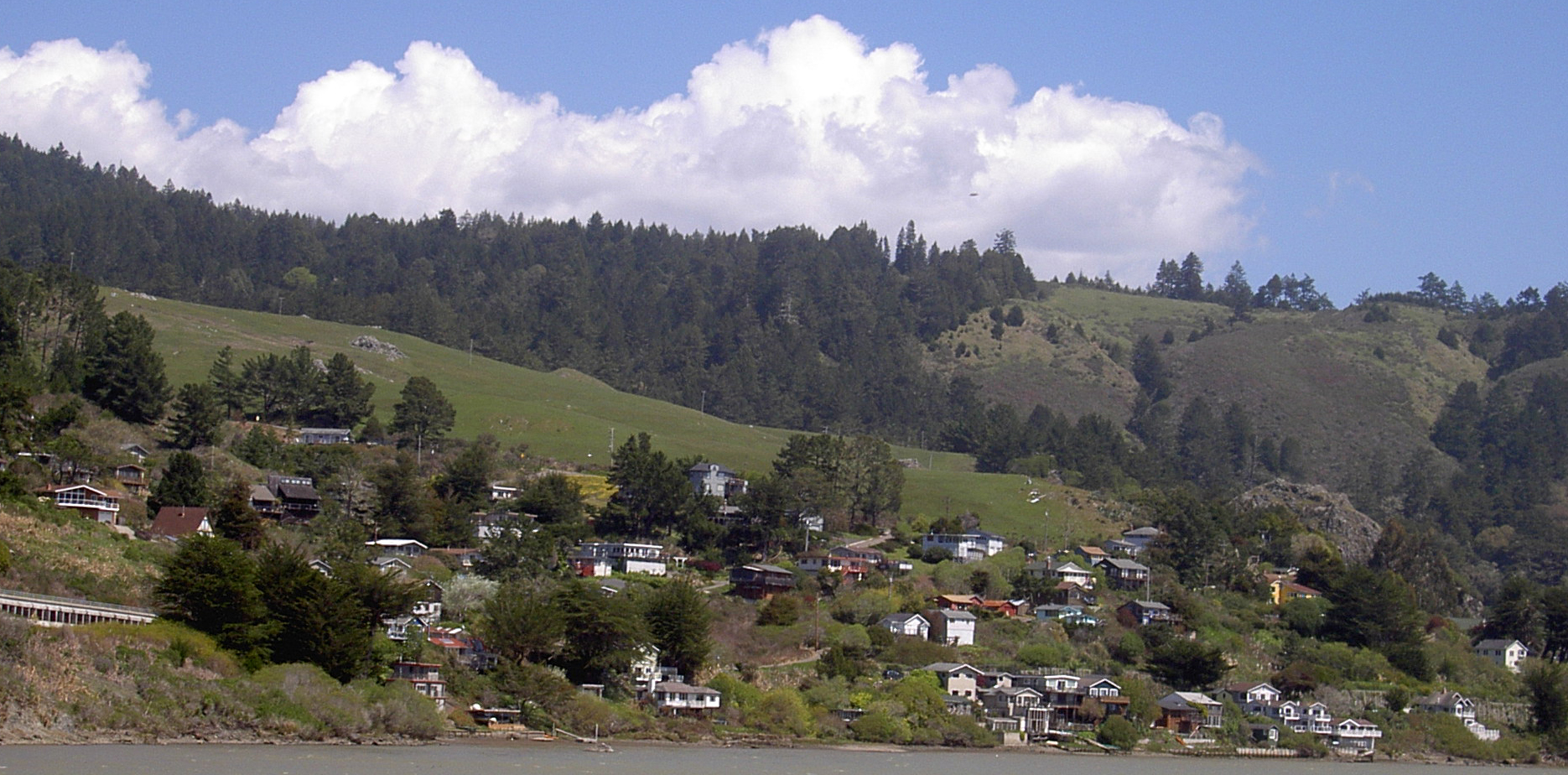 Hidden Gem In California For a Great Vacation-Town of Jenner