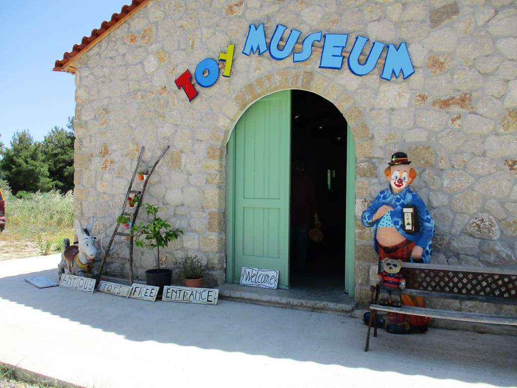 Visit Toy Museum in Archipoli, 37 km South of the City of Rhodes