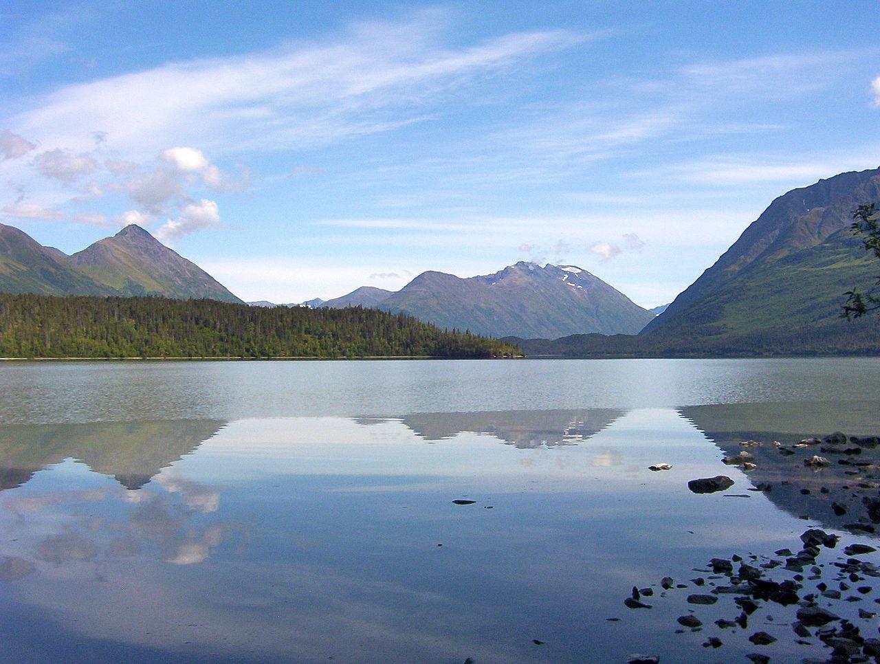 Best Lake Of Alaska City-Trail Lake