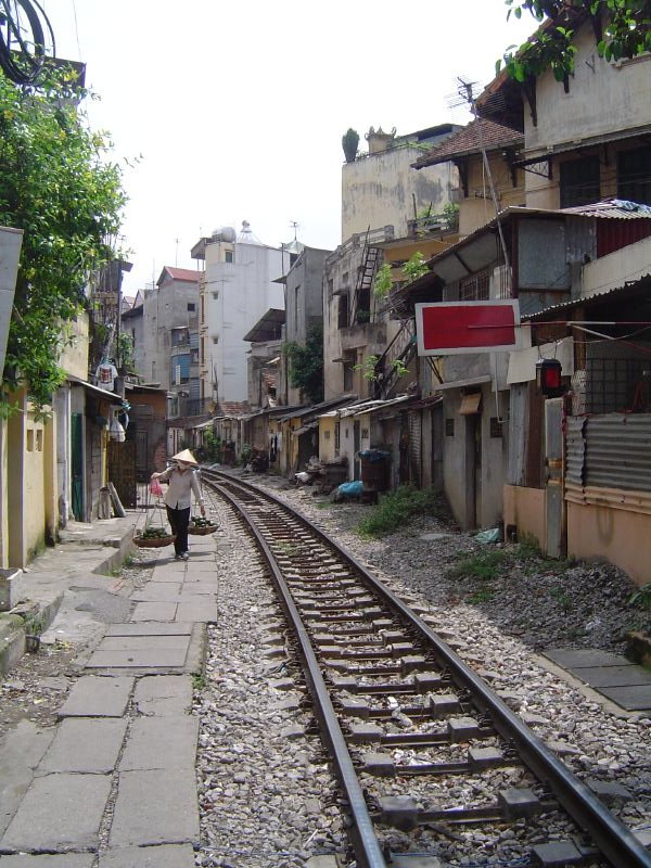 Train Street-Best Attractions of Hanoi, Vietnamese Capital City