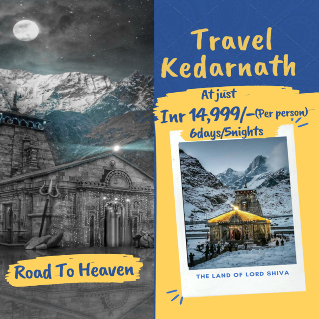 Travel Kedarnath