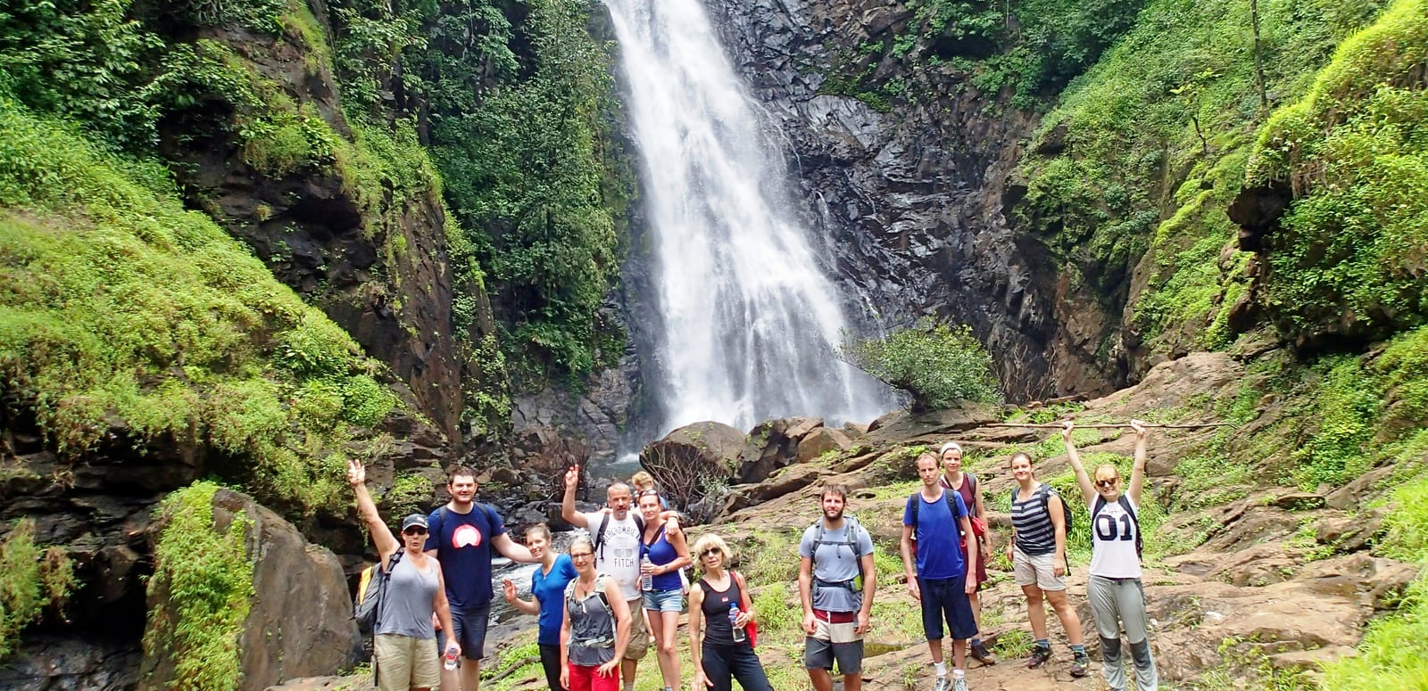 Trek to The Todo Waterfall - When in Goa With Friends, This is What You Should Do