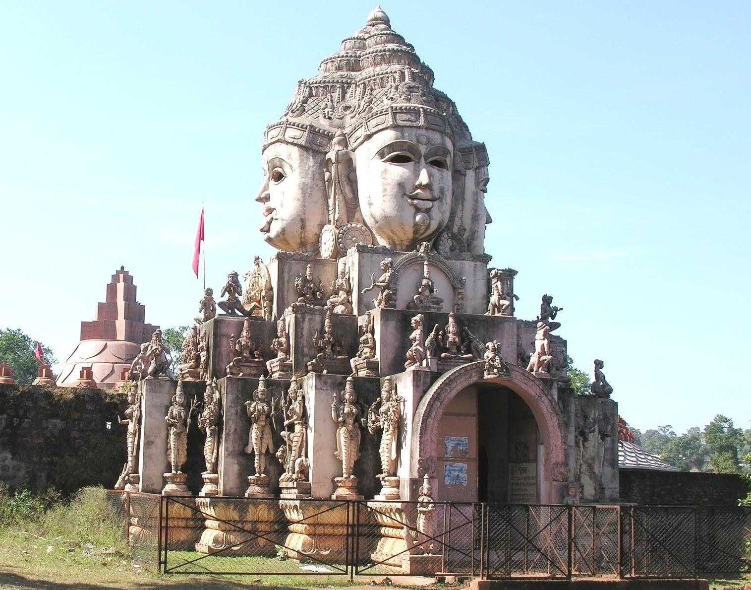 Amazing Place to Visit Near Jaigad Fort-Trimukhi Temple