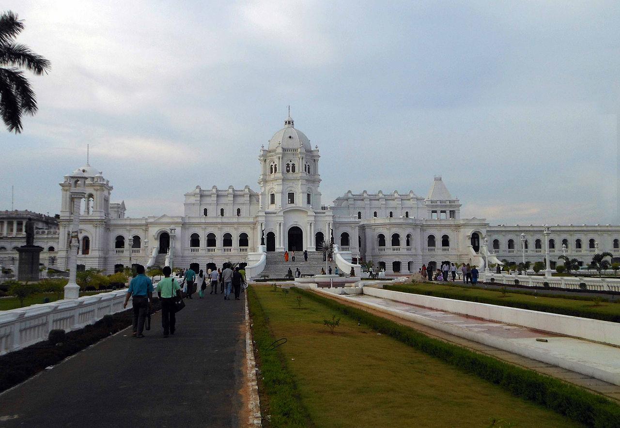 Top Historical Site in Tripura-Tripura State Museum (Ujjayanta Palace)