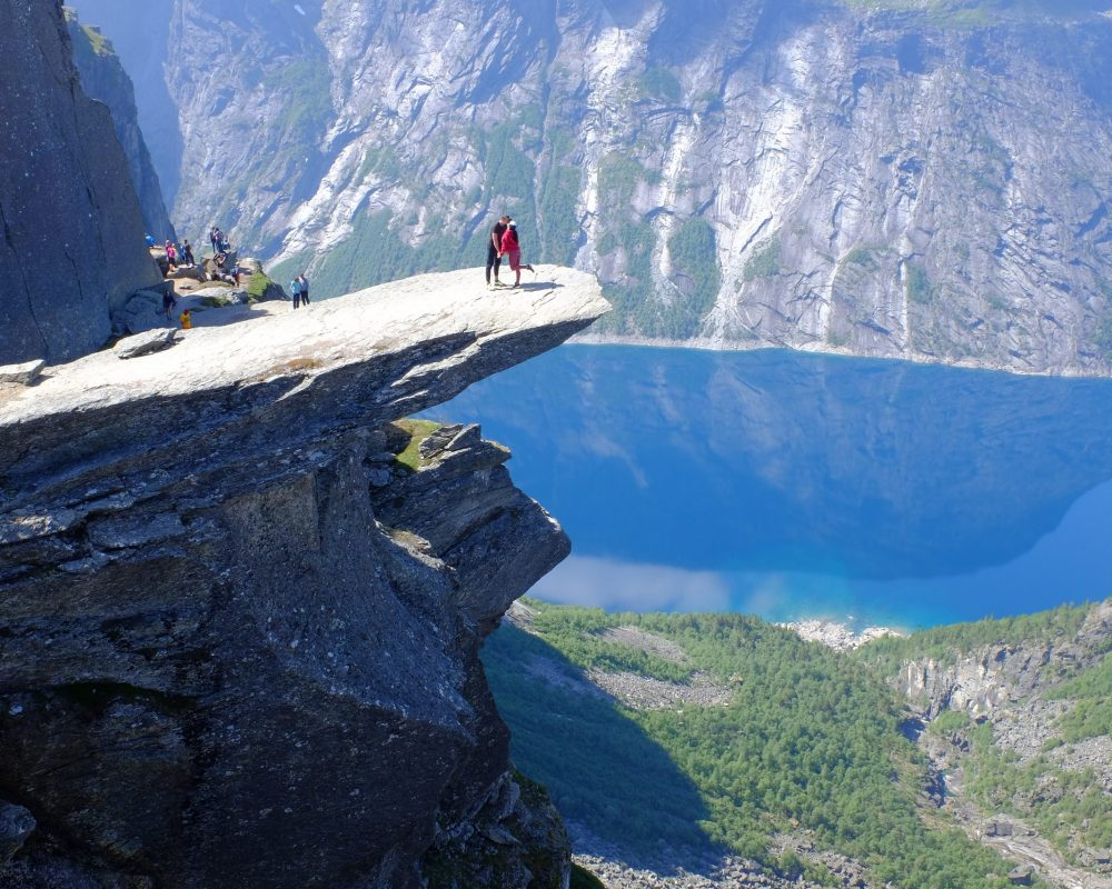 Trolltunga in Odda - Best Place for Camping in Norway