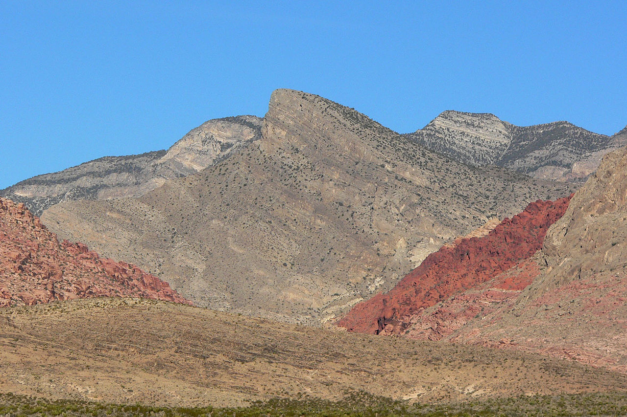 Best Visiting Place In Nevada, Red Rock Canyon National Conservation Area-Turtlehead Peak