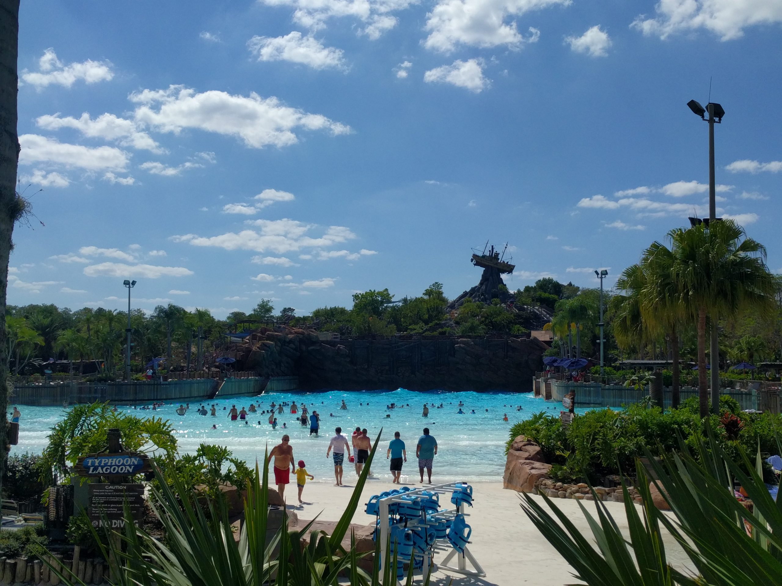Typhoon Lagoon-Amazing Theme Park In Orlando