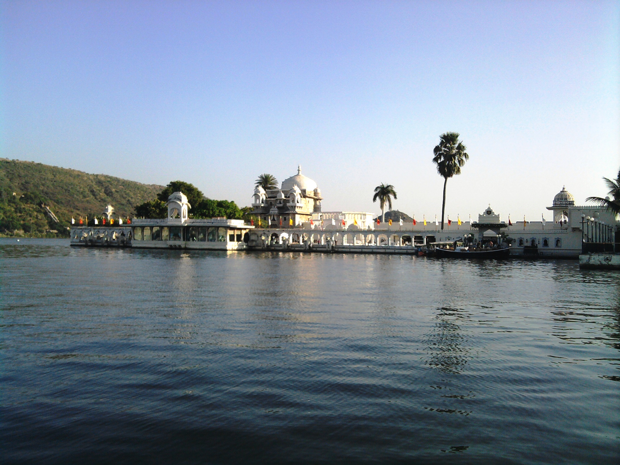 The Lake Palace and the Jag Mandir must visit while in Udaipur