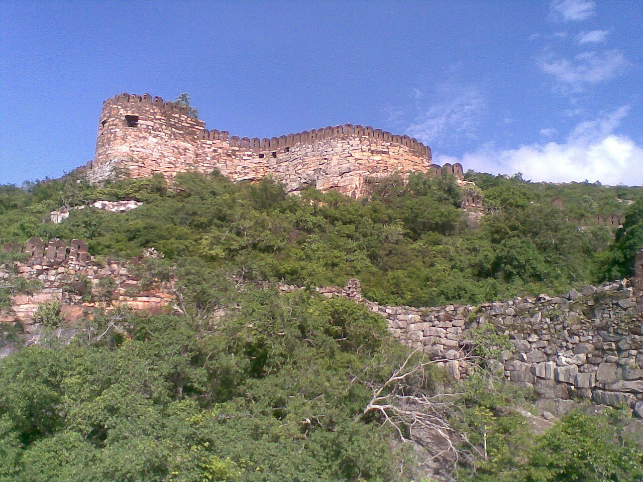 Udayagiri Fort in Kanyakumari