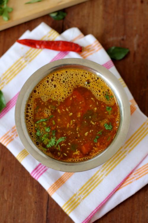 Top Dish in Karnataka-Udupi Tomato Rasam