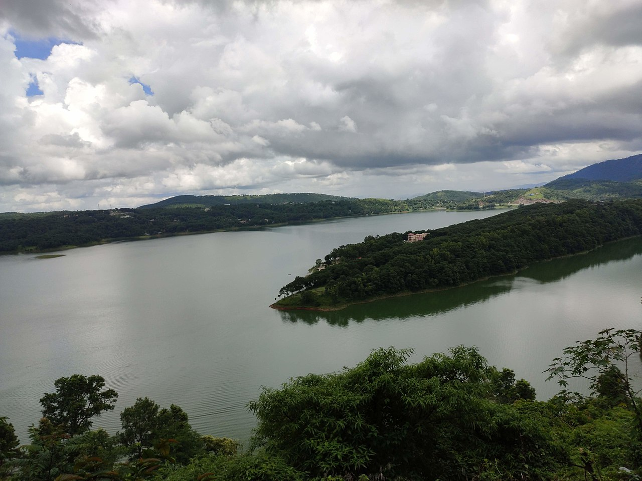 Umiam Lake in Shillong