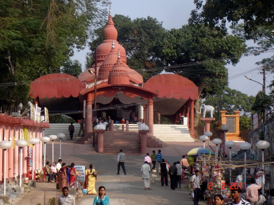 Ummaneshwar Temple in Ujjayanta Palace at Agartala, Tripura