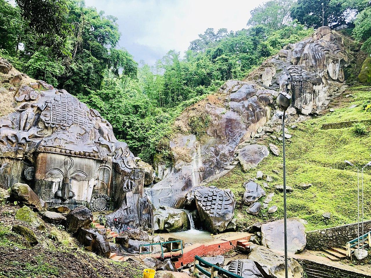 Best Visiting Place In Tripura-Unakoti