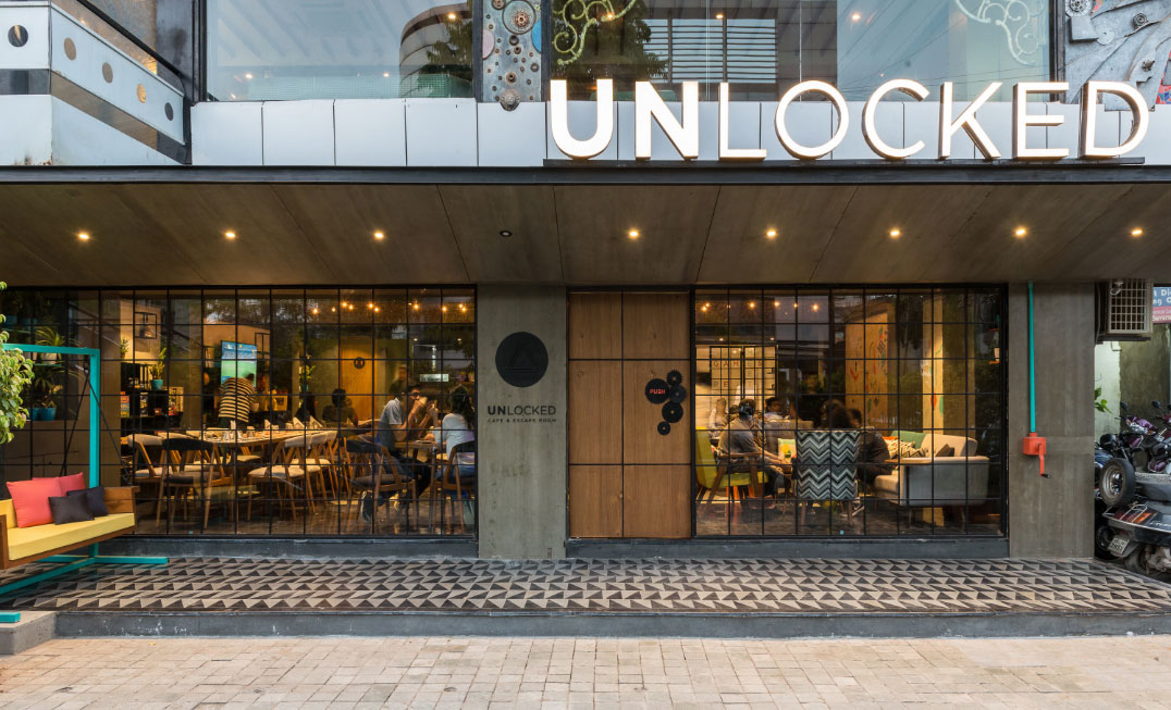Visit Unlocked Restaurant When In Ahmedabad