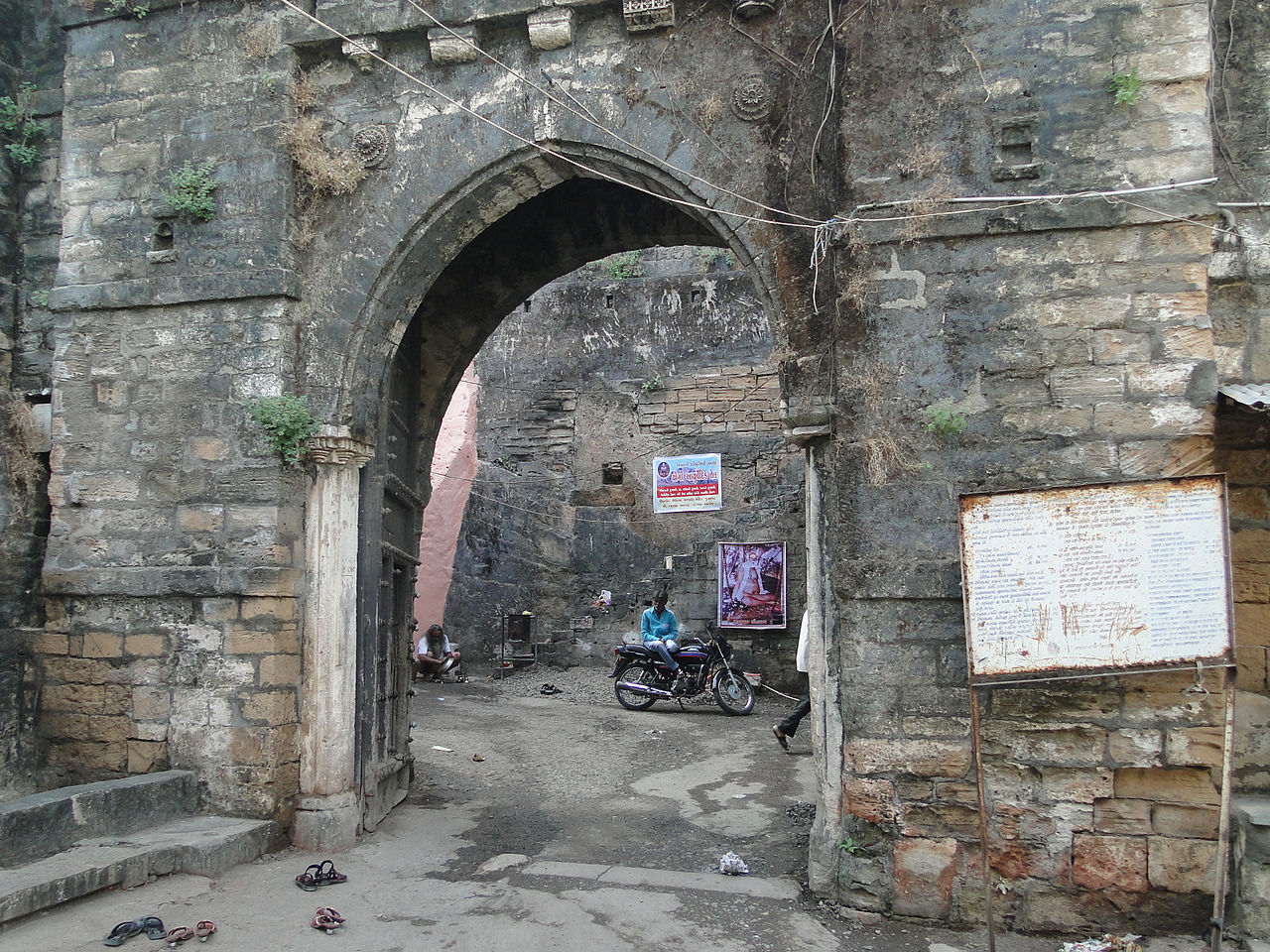 Visit Uparkot Fort in Junagadh