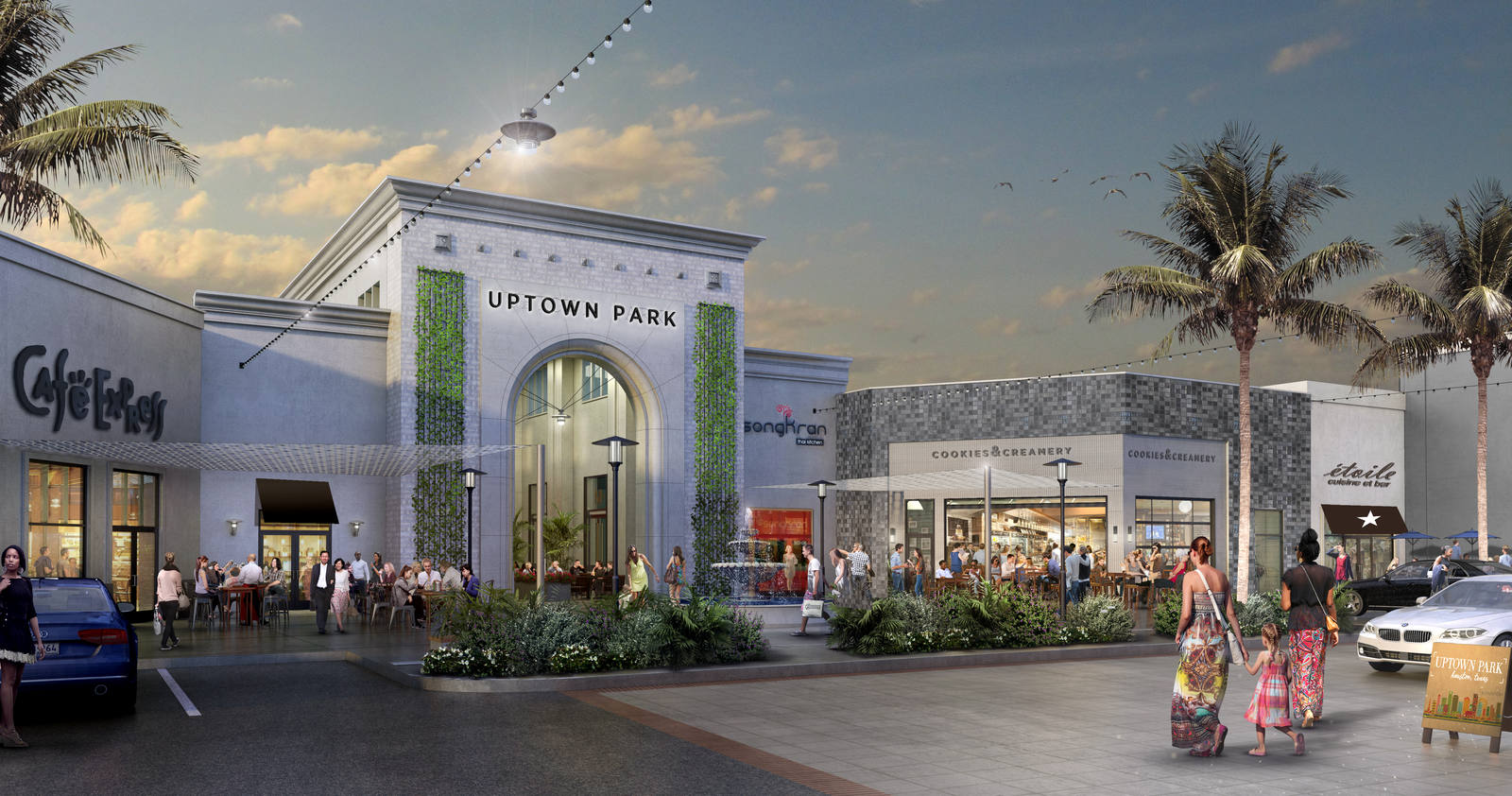 Uptown Park Best Shopping Place in Houston