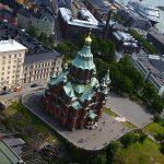 Uspenski Cathedral Birds Eye View, Helsinki Travel