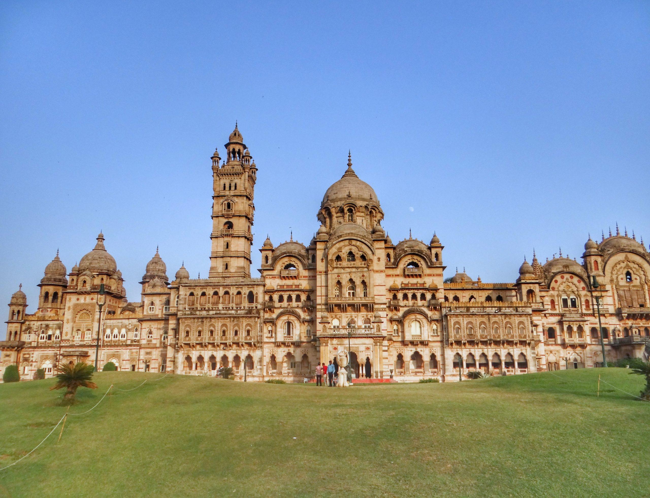 Visiting the Laxmi Vilas Palace while being in Vadodara