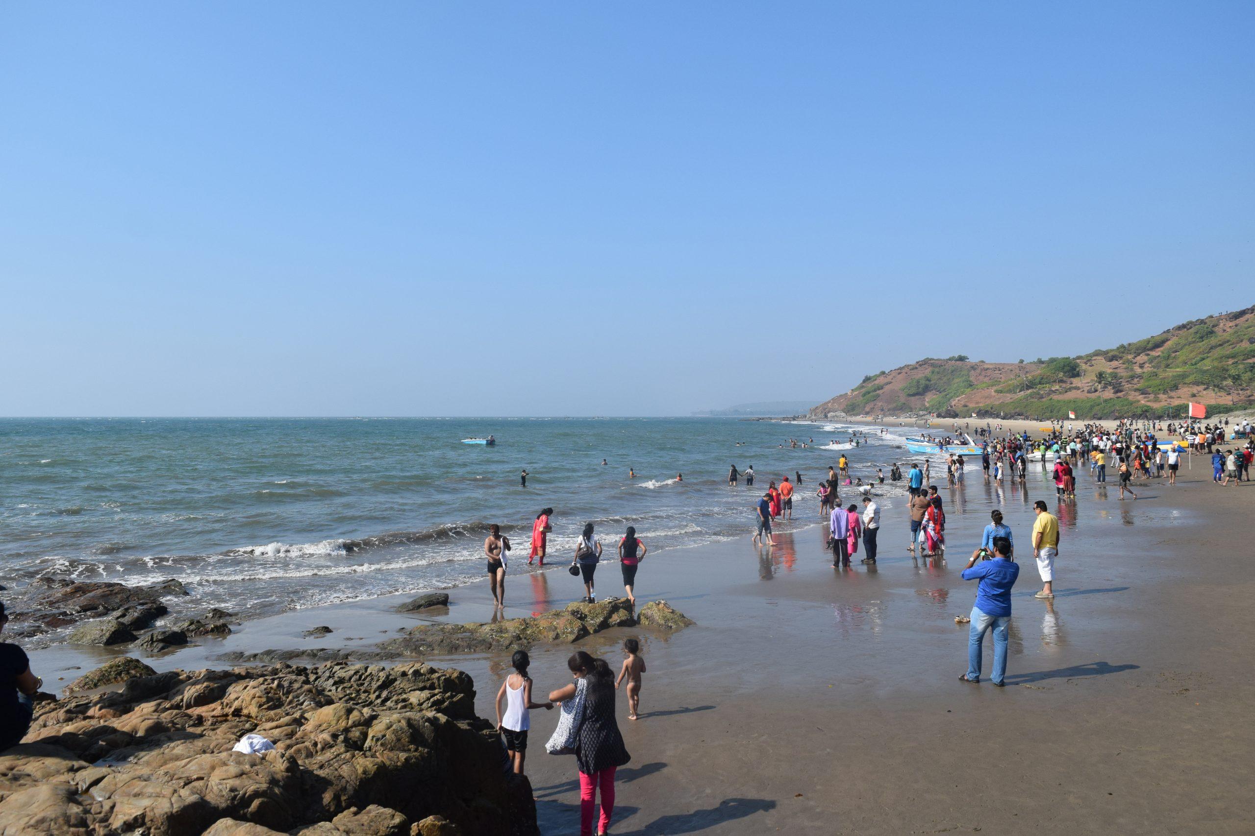 Get Some Vitamin Sea At This Best Beache in North Goa - Vagator Beach
