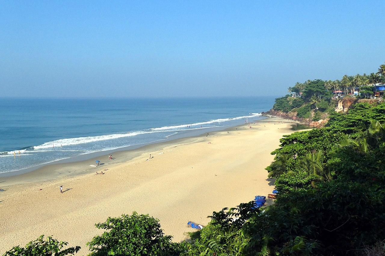 Top-Rated Beach of Kerala-Varkala Beach
