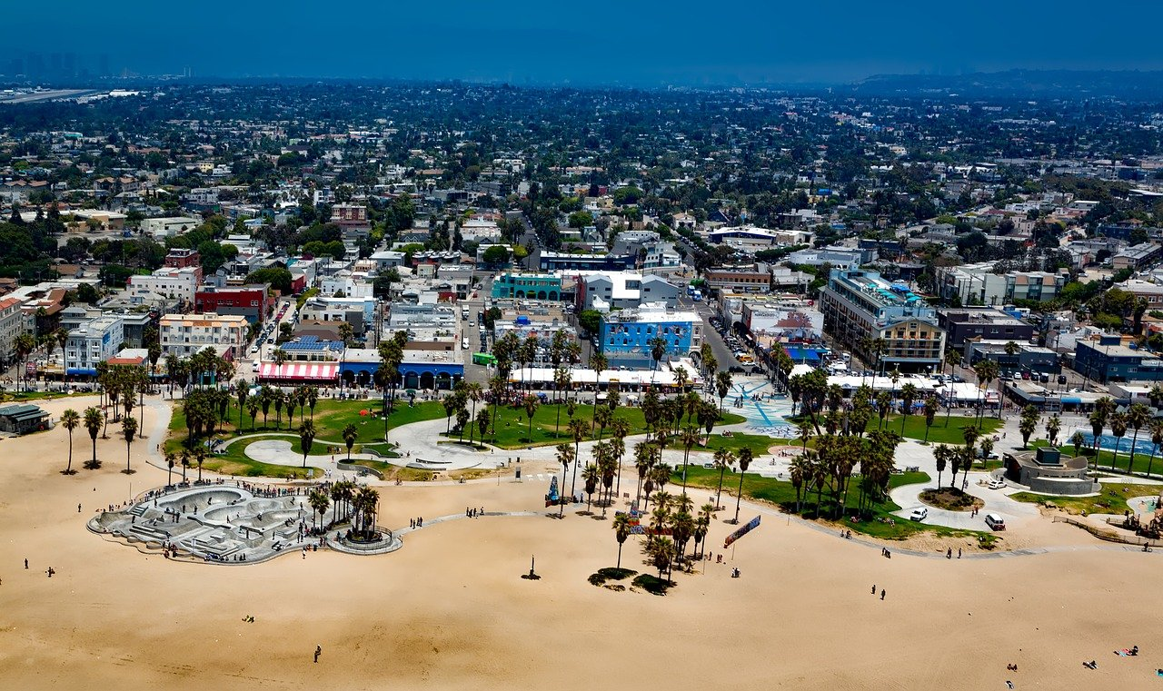 Tourist Place In Southern California-Venice Beach