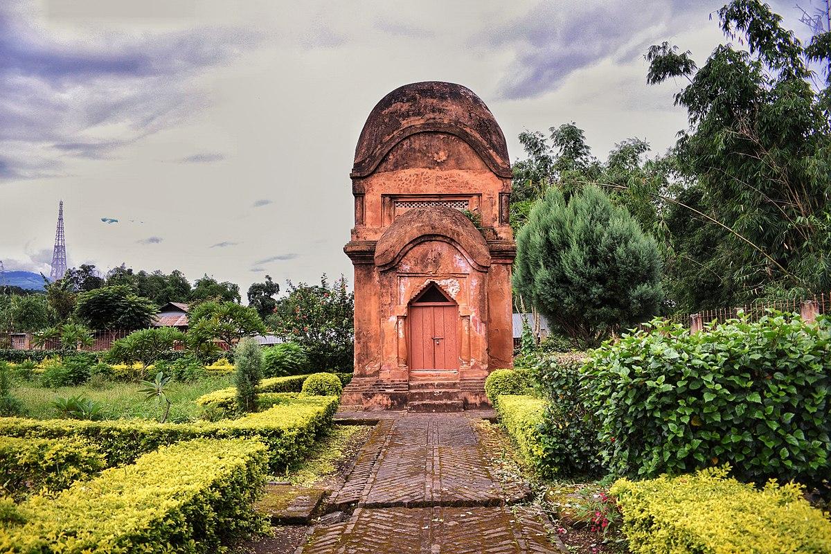 Incredible Places to Visit in Northeast State of Manipur-Vishnu Temple, Bishnupur