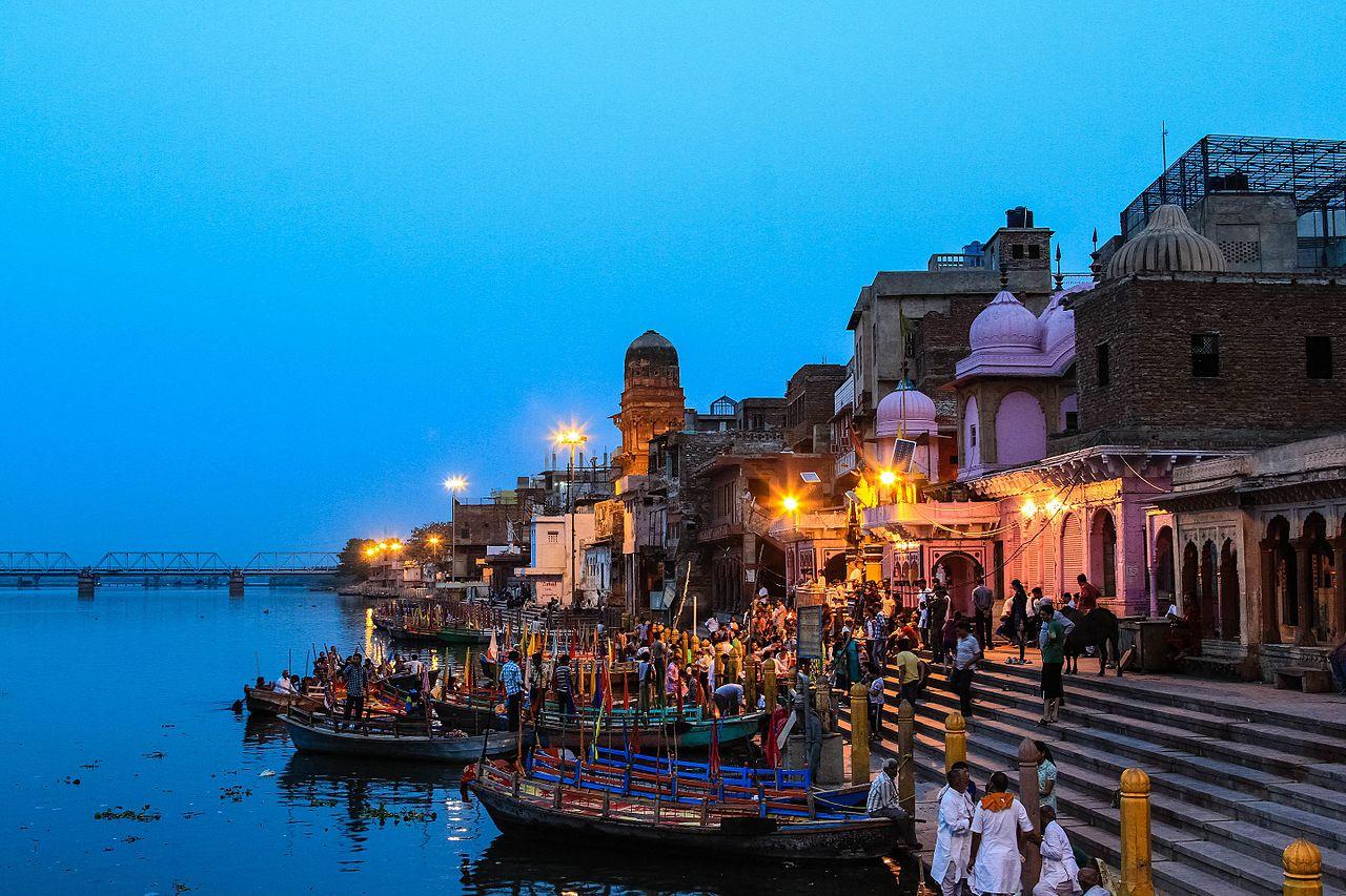 Top Tourist Place In Mathura-Vishram Ghat