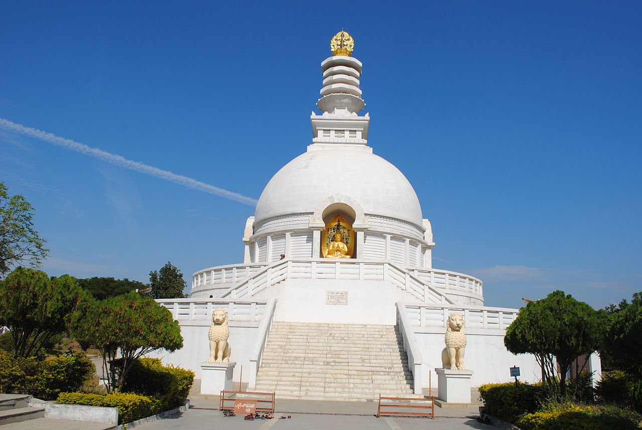 Incredible Place To Visit In Vaishali, Bihar-Vishwa Shanti Stupa
