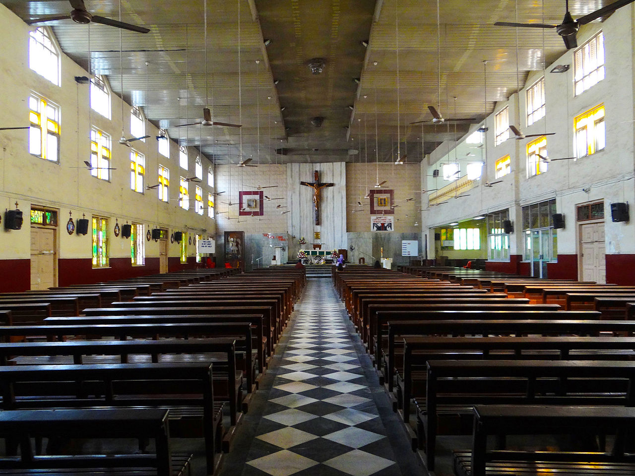St. Michaels Church - One of the Oldest Catholic Churches in Mahim, Mumbai