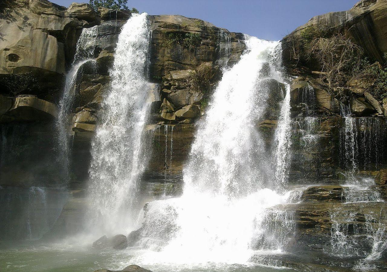 Amazing Things to Do At Chirmiri, Chhattisgarh-Visit The Amrit Dhara Waterfalls