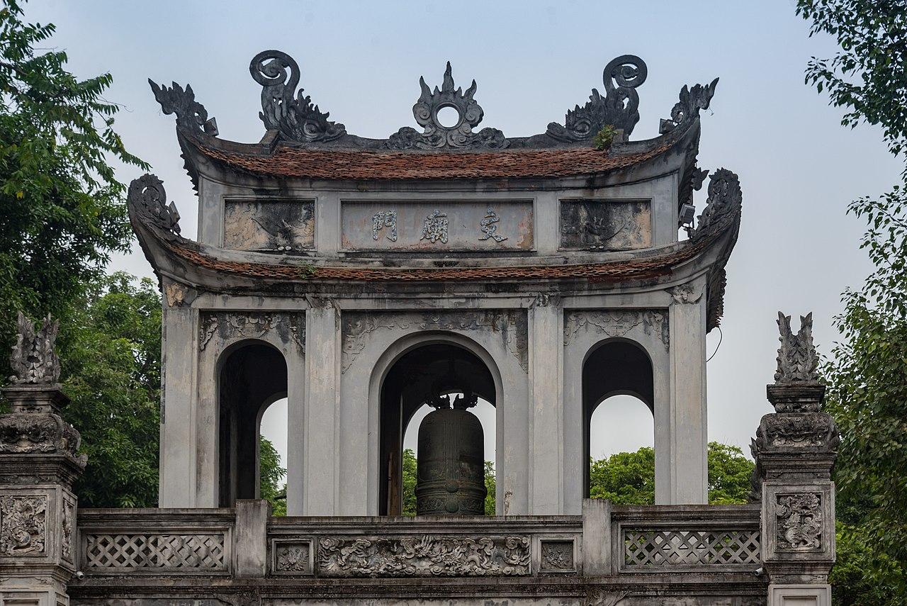 Visit the Temple of Literature in Hanoi