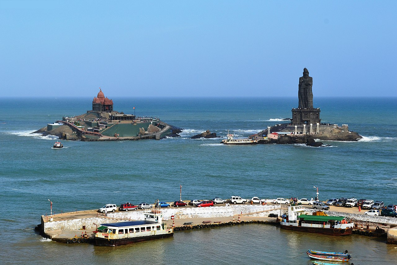 Place to Visit Around The Udayagiri Fort-Vivekananda Rock Memorial, Kanyakumari