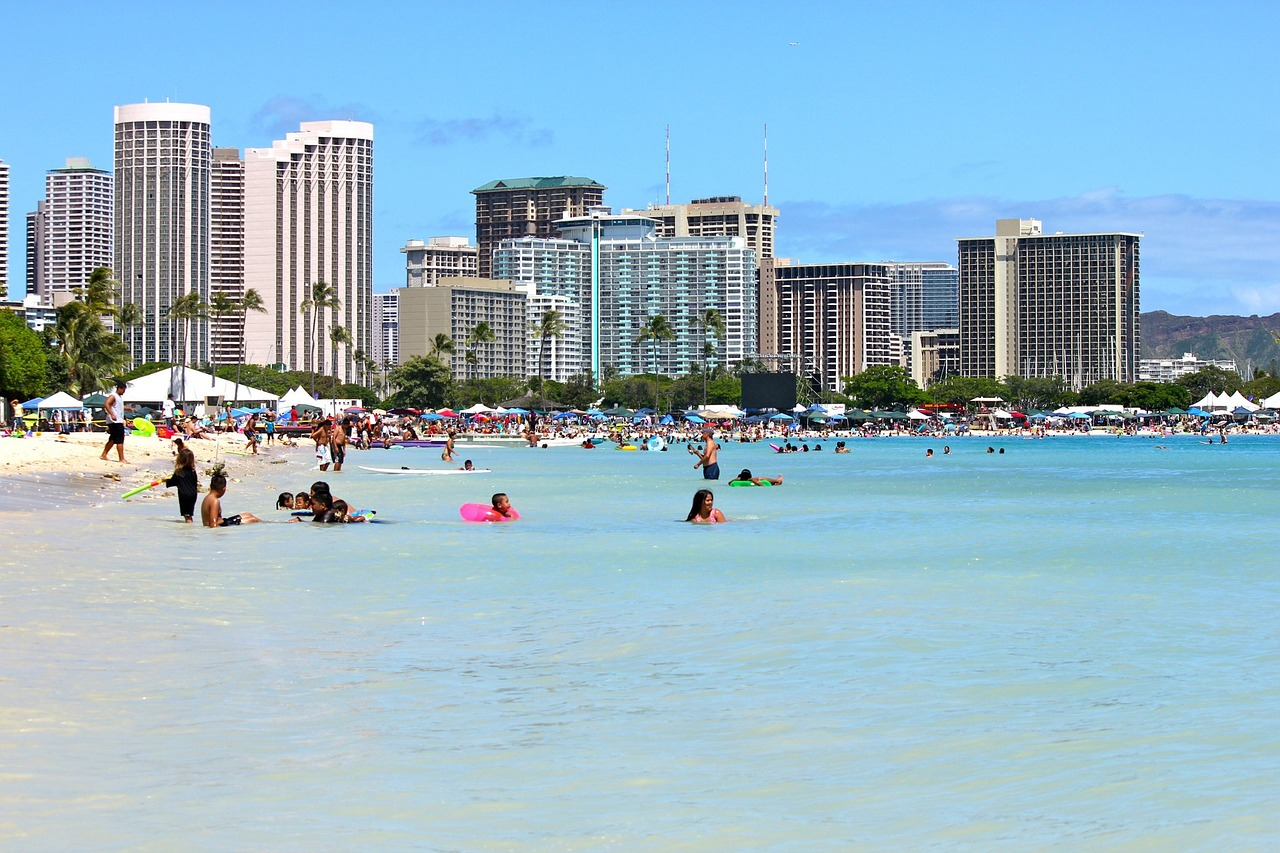 Waikiki Beach - Best place to visit in Hawaii
