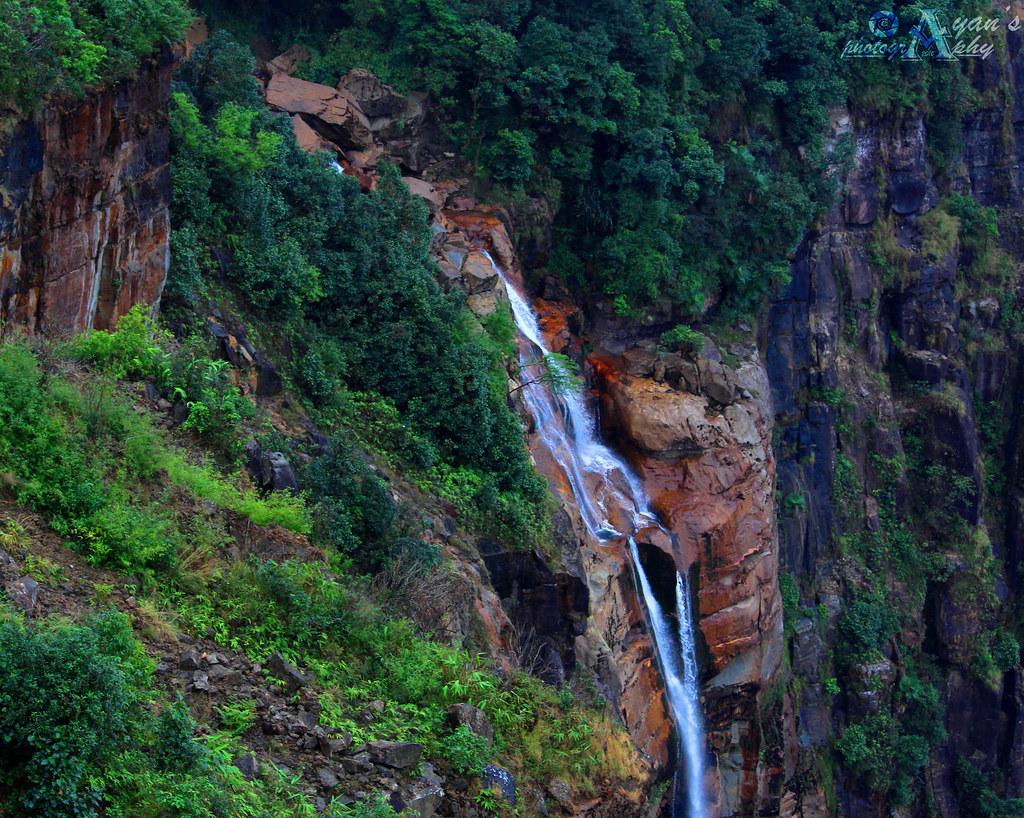 Must-Visit Attraction of Cherrapunji-Wakaba Falls