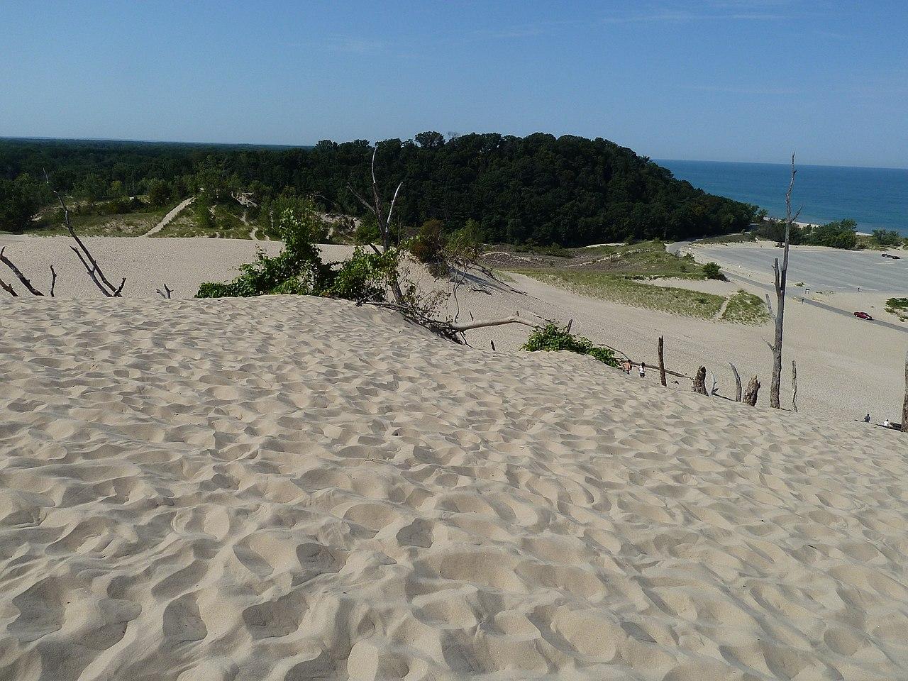 Nice Beach of Michigan-Warren Dunes Beach