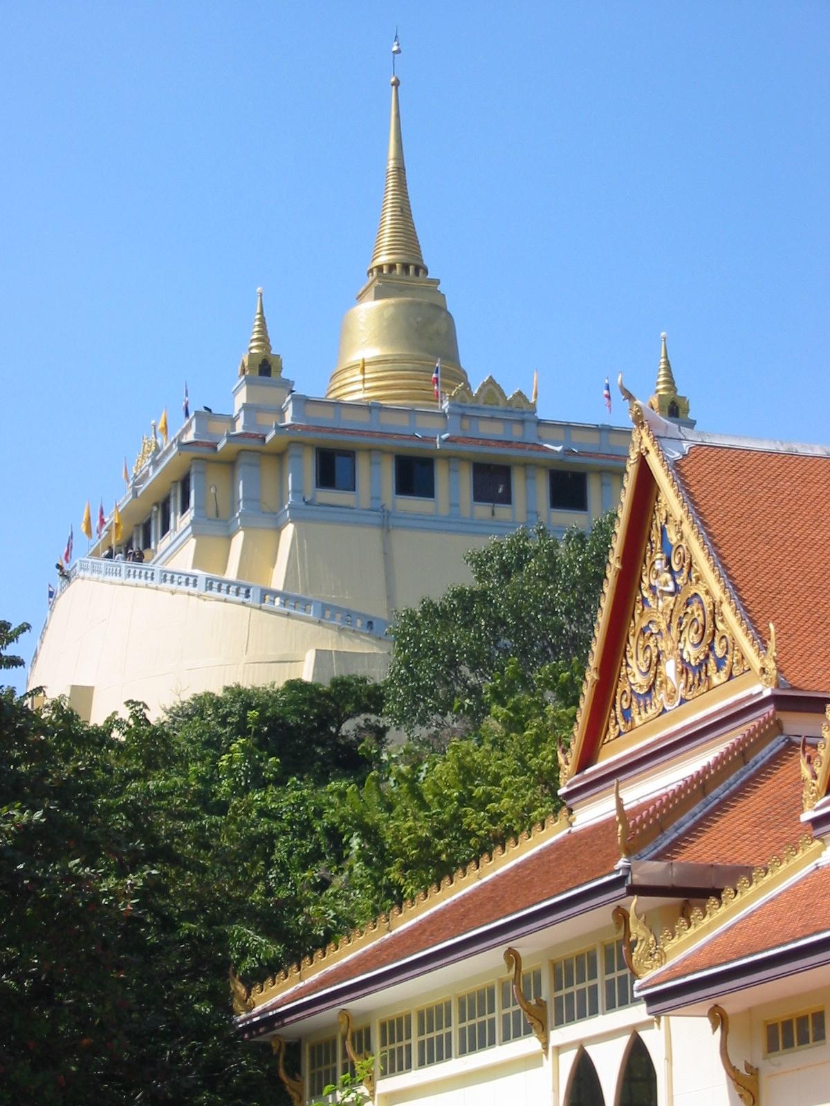 Best Place in Bangkok-Wat Saket