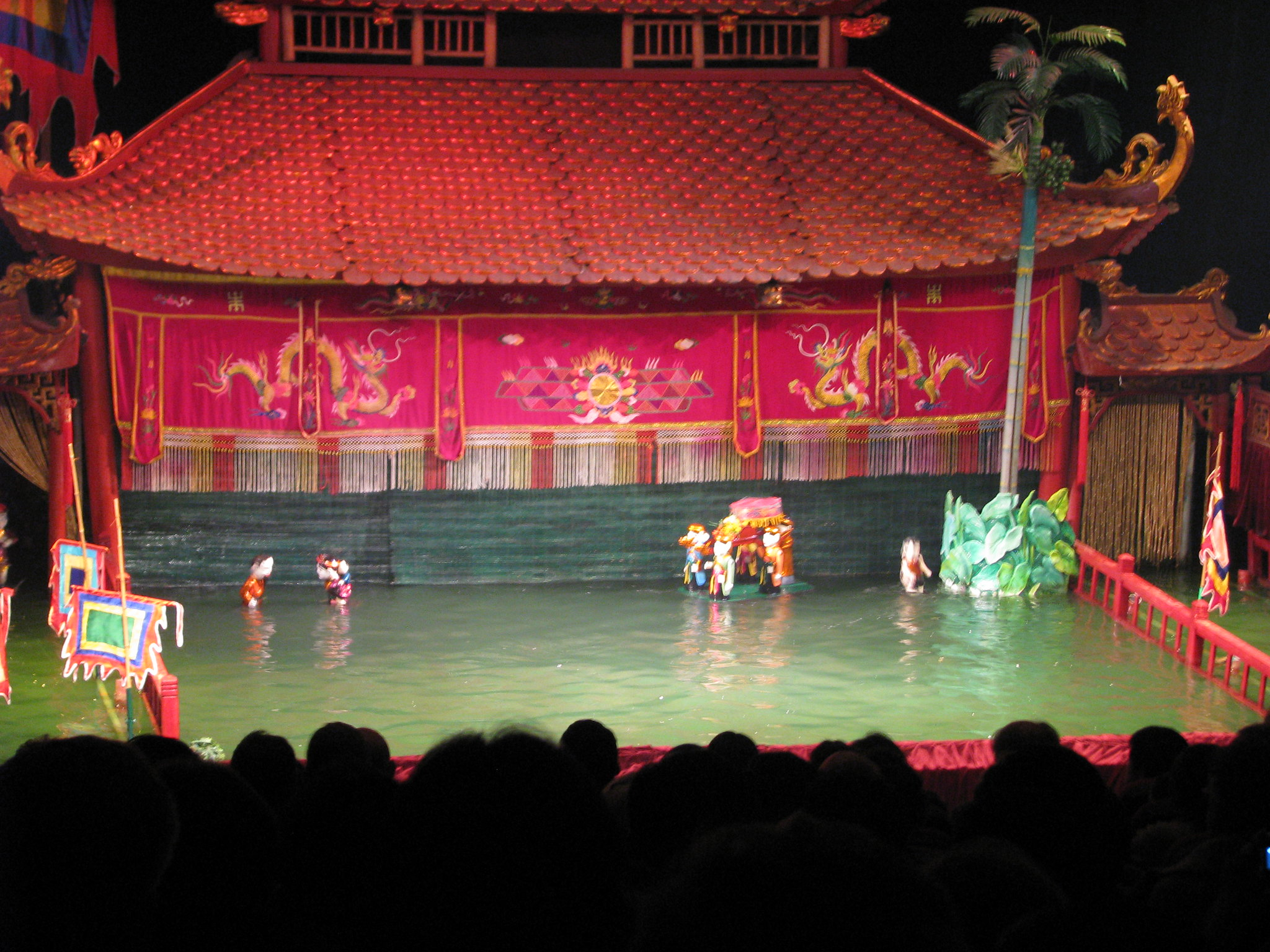 Best Attractions of Hanoi, the Vietnamese Capital City-Water Puppet Theatre