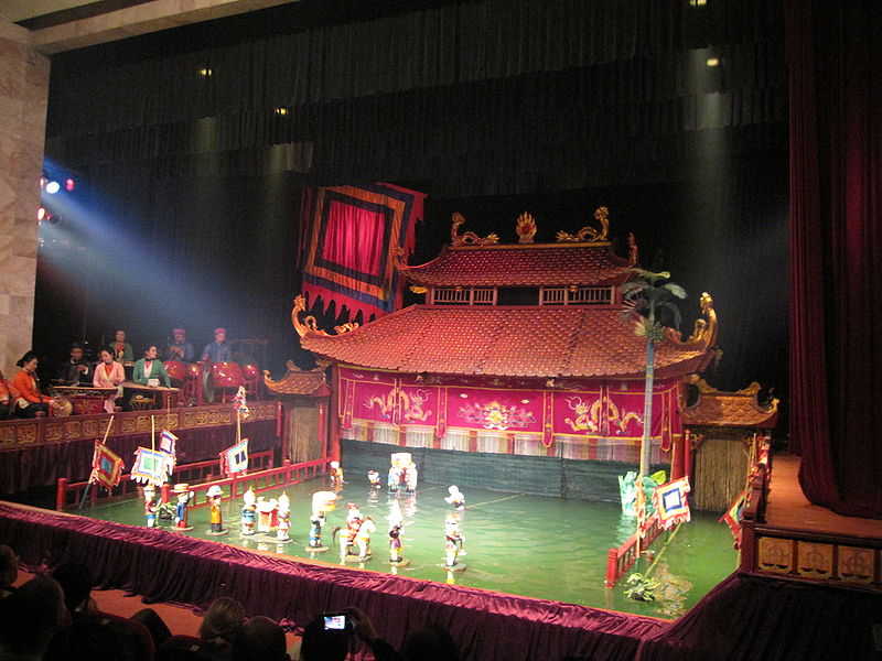 Best Nightlife Place To Have Fun in Hanoi-Water Puppet Theatre