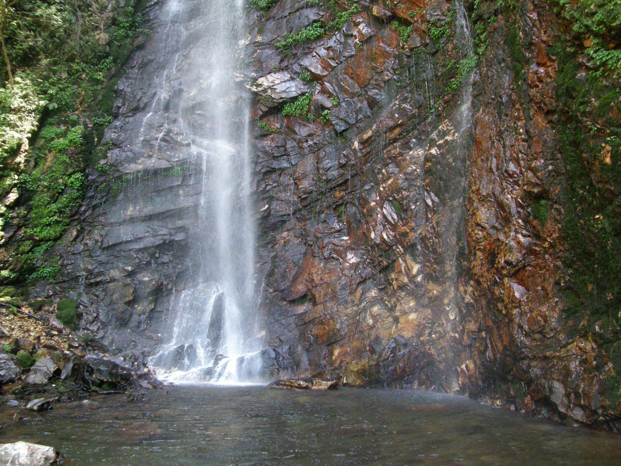 Place To See In Shojha-Waterfall Point